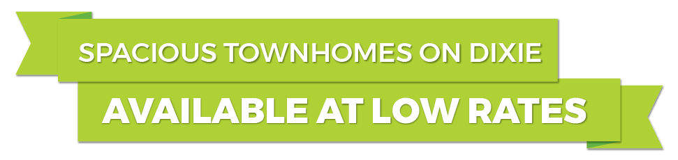 Lock in your townhome at a low rate!
